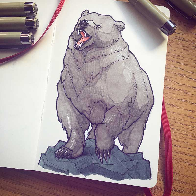 Bear by Silartworks