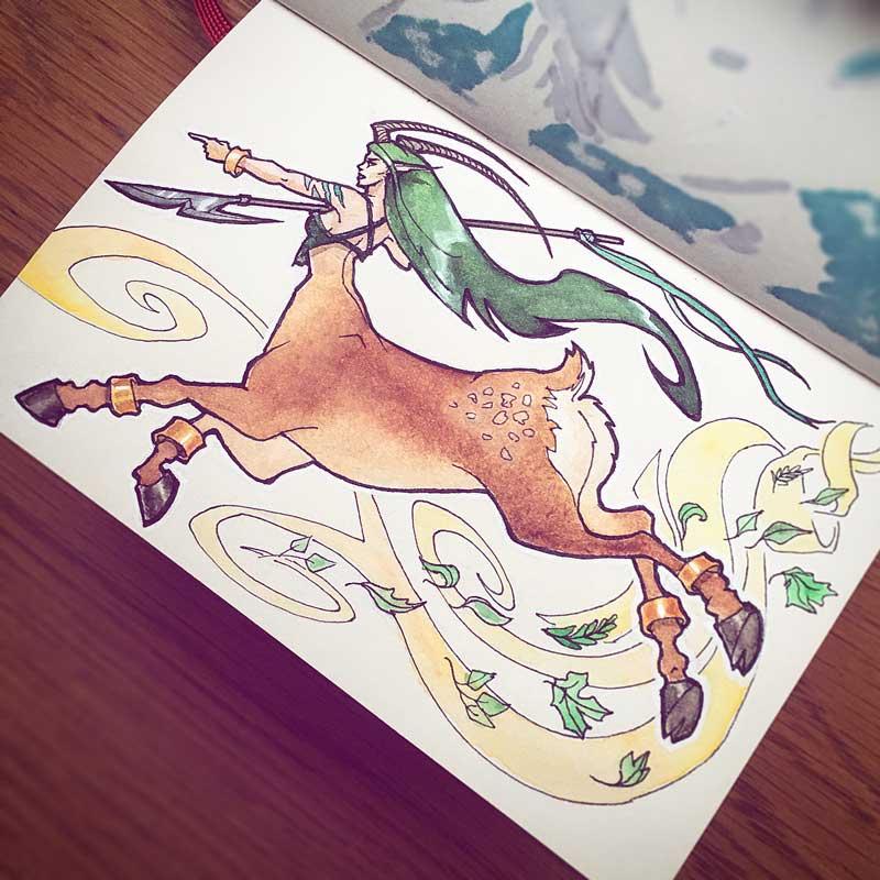 Centaur by Silartworks