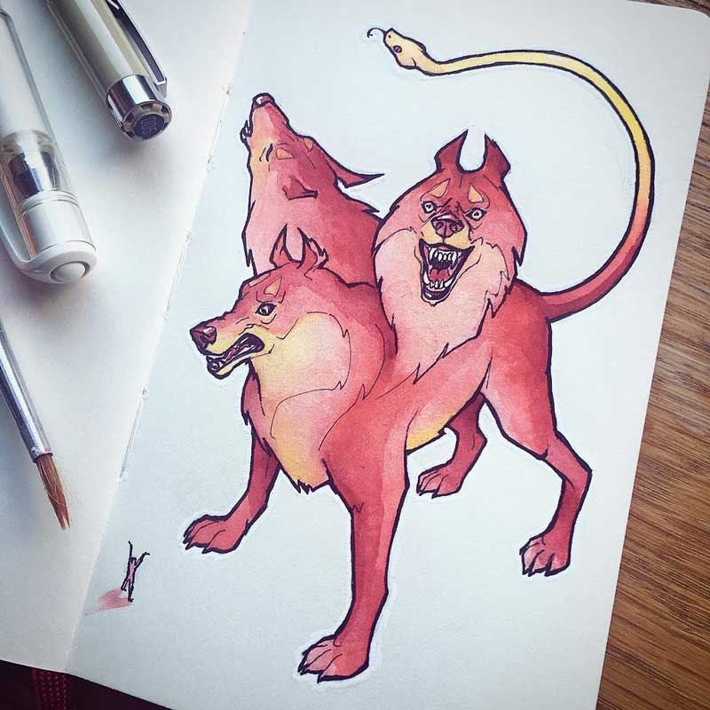 Cerberus by Silartworks