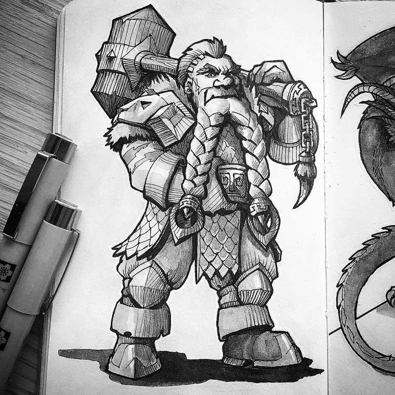 Dwarf by Silartworks