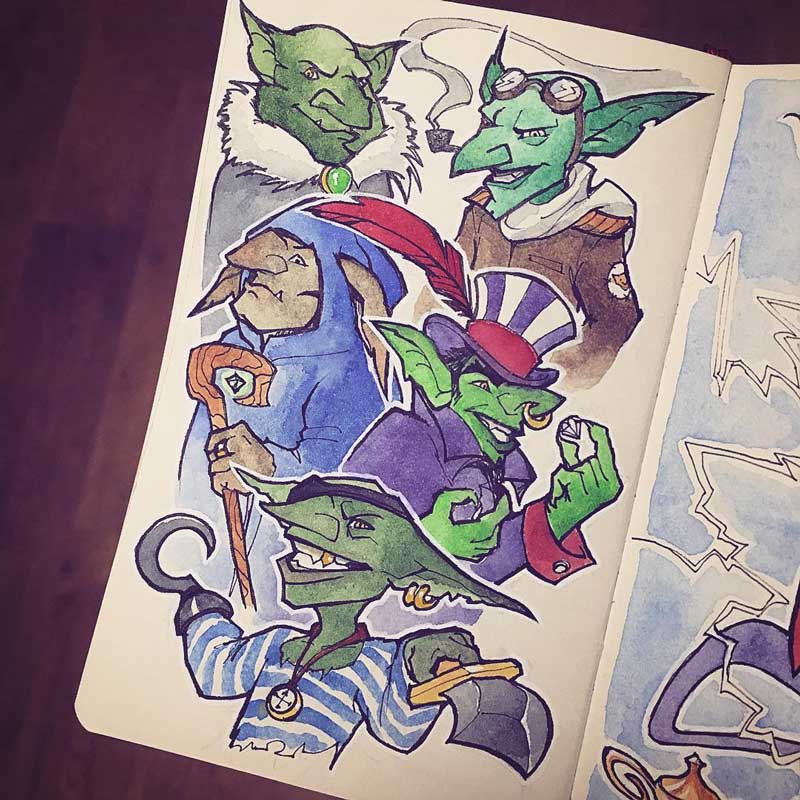 Goblins by Silartworks