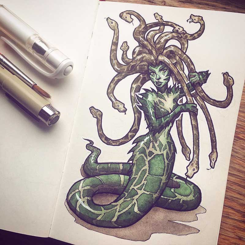 Gorgon by Silartworks
