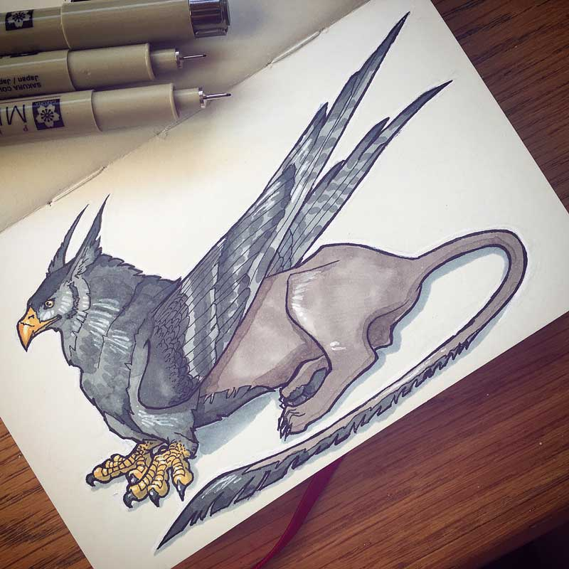 Gryphon by Silartworks