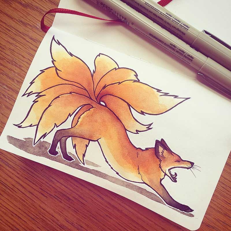 Kitsune by Silartworks