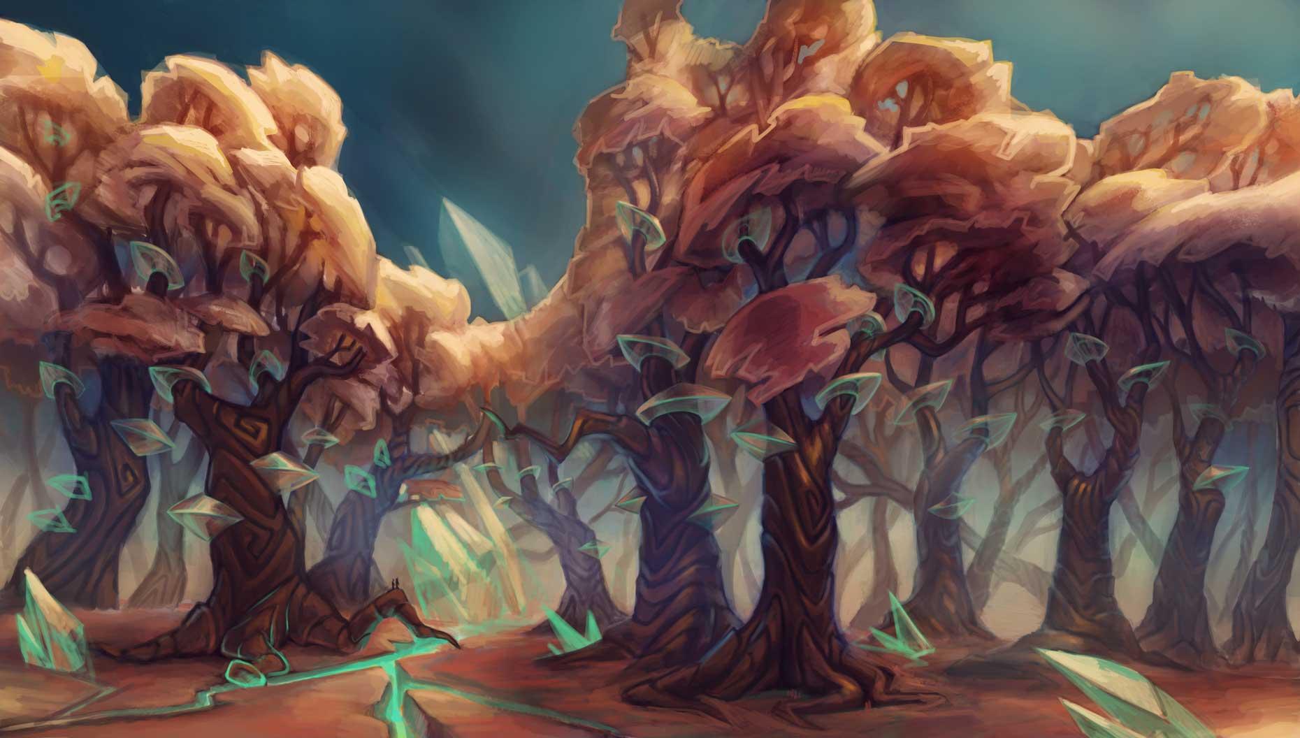 Landscape sketch by Silartworks