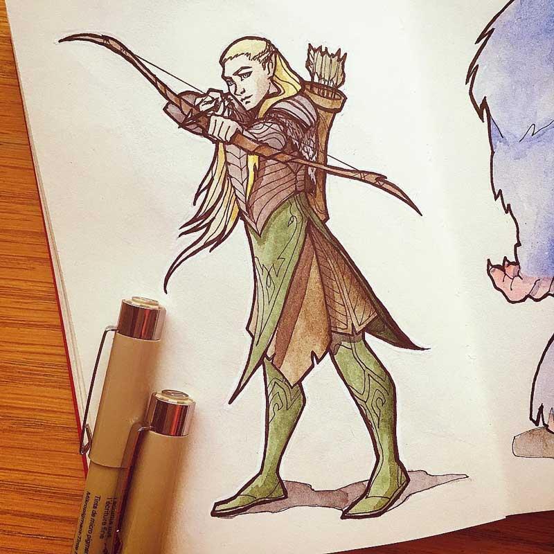 Legolas by Silartworks