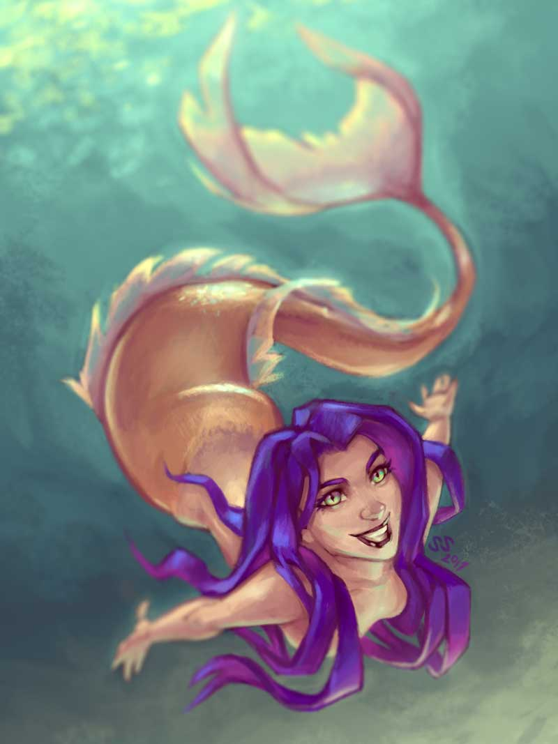 Mermaid by Silartworks