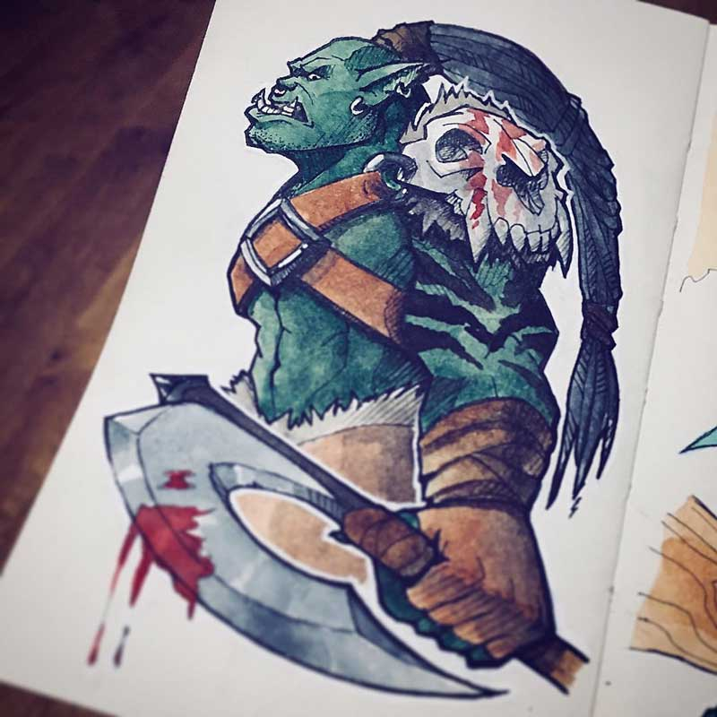 Orc by Silartworks