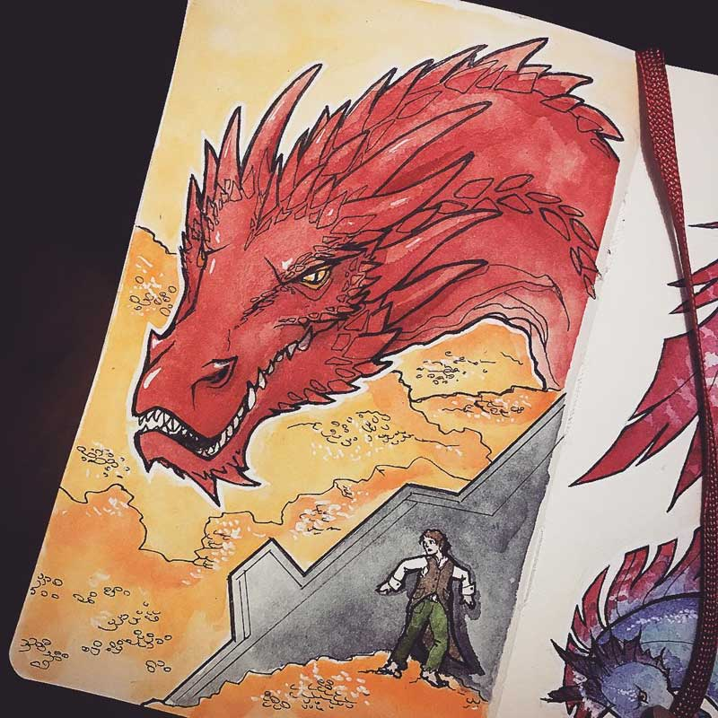 Smaug by Silartworks