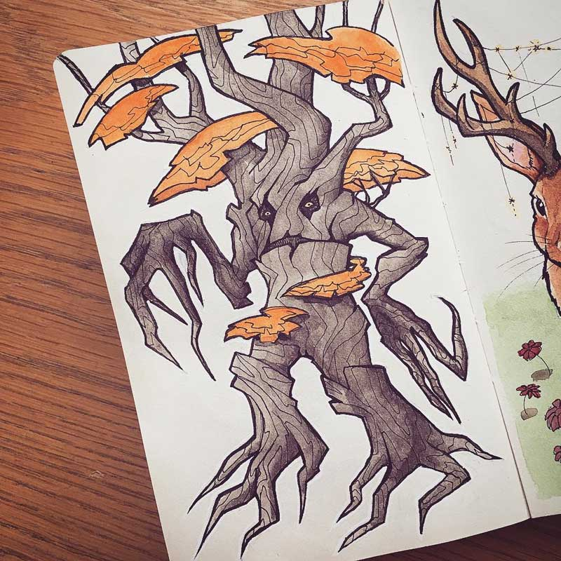 Treant by Silartworks