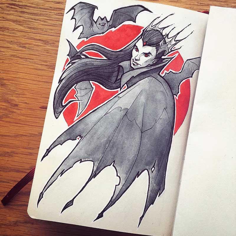 Vampire by Silartworks