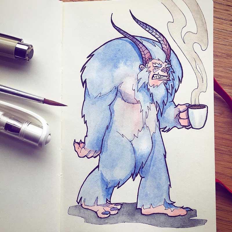 Yeti by Silartworks